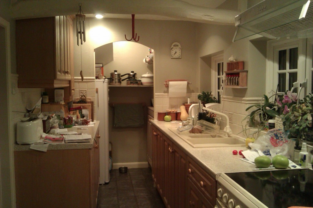 My galley kitchen